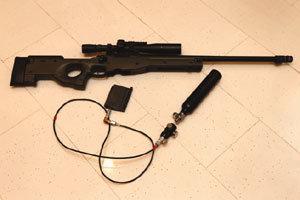 불법개조 장난감 총에 목숨 잃을라