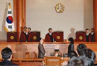 헌재, 미디어법 2차 권한쟁의 기각 外