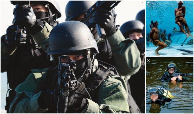 지옥에서 살아 온 전사 그대들은 지상 최강 '인간병기'