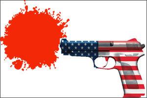 """총 맞아 죽어나가도 """"총이 좋아"""""""