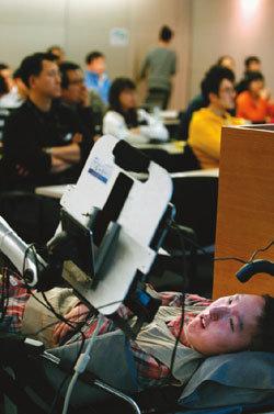 IT 이용한 보조기구 개발 장애인에 자유 주는 꿈을 꿔요