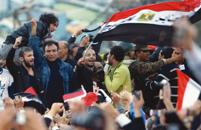 무바라크 퇴진에 가자지구 환호성 왜?