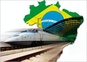 브라질 고속鐵은 '빛 좋은 개살구'