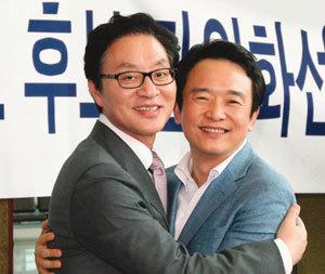 """""""박근혜 앞으로"""" 월박(越朴) 도미노?"""