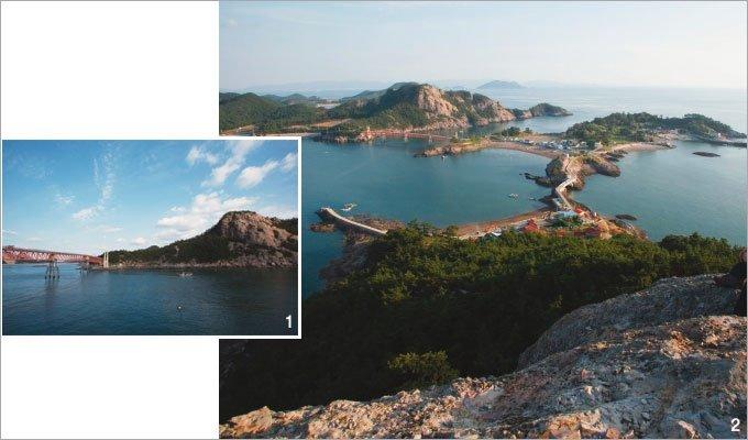 바다를 껴안은 섬…섬 선유팔경 내려앉았네