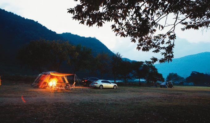 '캠핑' 가는 길 하하 호호
