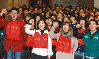 소리만 요란한 '김석동 리더십'