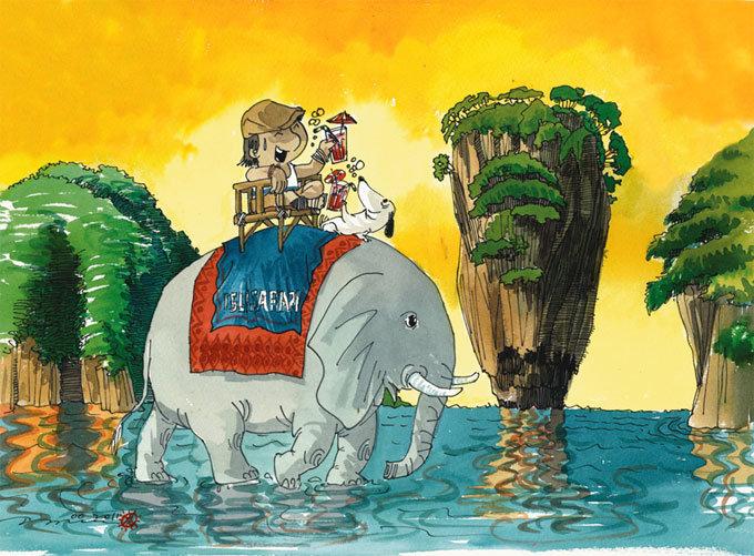 코끼리를 타볼까, 물고기를 만나볼까