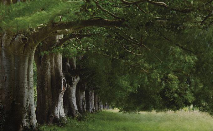 중얼거리는 나무