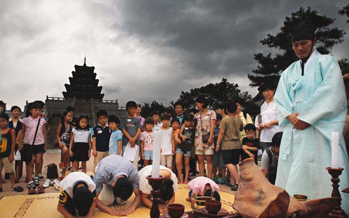 기청제(祈晴祭) 올리는 대한민국