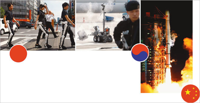 첨단기술=첨단무기 동아시아 군비경쟁 '먹구름'