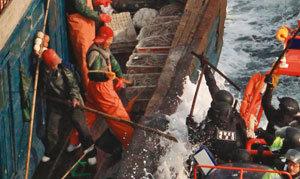 중국 '선해(船海) 전술'에 바다는 비명