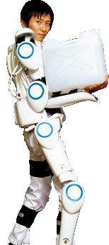 누운 노인 '번쩍' 병구완 로봇에 감탄
