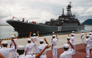러시아 최신예 핵잠수함 태평양함대에 실전 배치