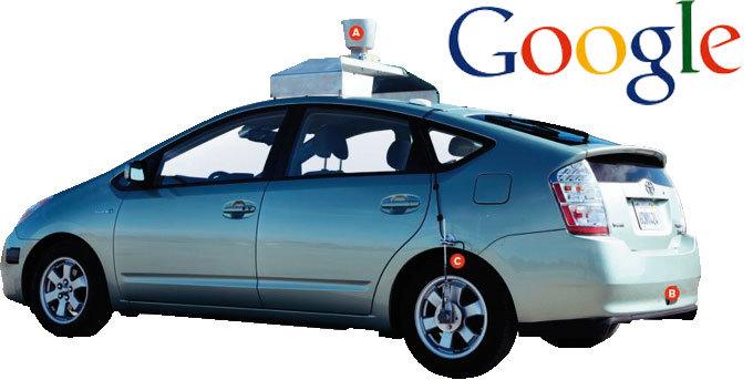 무인 구글카에 운전면허증 발급