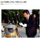 '주홍글씨' 손학규 올해도 집으로 돌아가나