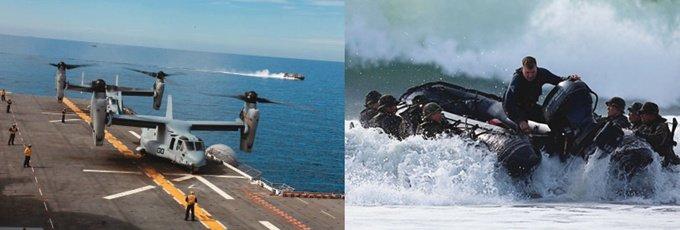 美와 상륙훈련 日 자위대 해병대까지 창설하나