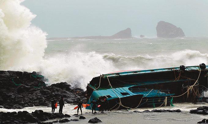 태풍 연타(連打)