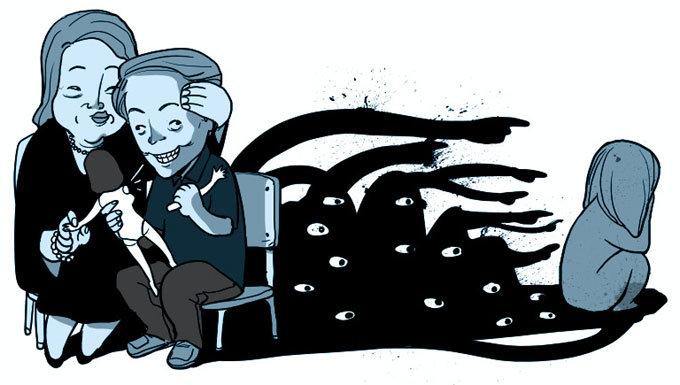성범죄 아들 옹호 '母性의 변심'