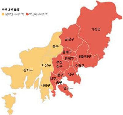 """""""이번엔 박근혜라예 vs 사람 맘 어데 알겠능교"""""""
