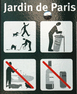 악! '개똥' 밟는 파리 시민들