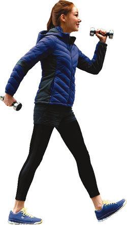 달리기보다 걷기? 힘들어야 살 빠진다