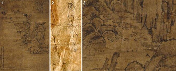 800년 만의 기적 고려 수묵화 '독화로사도' 발굴