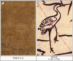 섬마을…모래톱 백로…북송 문인화가 그림 스타일