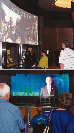 '미국은 어쨌든 하나' 부시 기념관의 힘