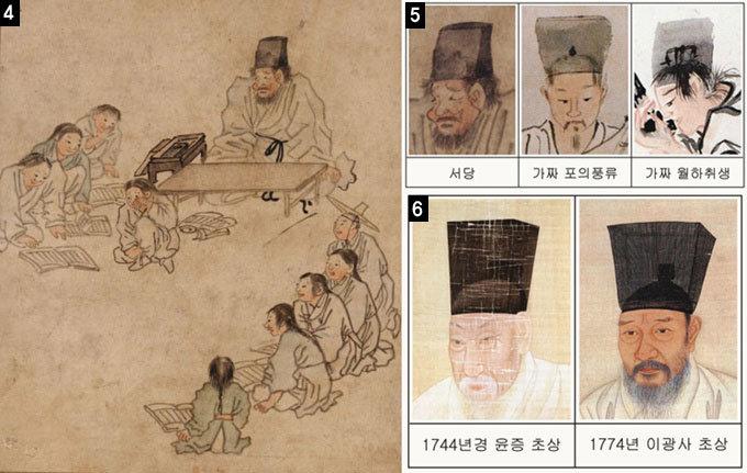 김홍도의 '포의풍류' '월하취생' 5등급 초짜 짝퉁
