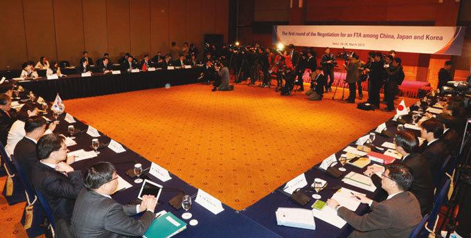 3대 경제블록 가시화 한국, 도전과 응전의 시기