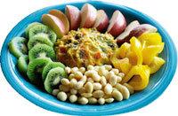 채소·과일로 차린 밥상 우린 '건강'이라 불러요