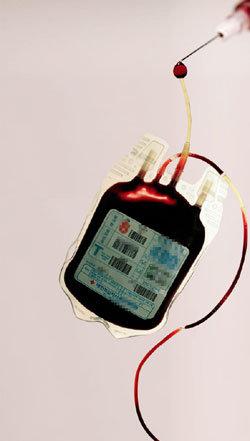 법정감염병 환자 혈액 수혈용으로 공급 충격