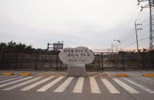 8월 폭염에도 팽팽한 긴장 판문점 경비병 '눈빛 전쟁'