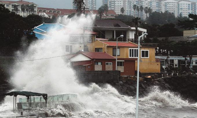 한국 온 태풍 왜 더 매울까?