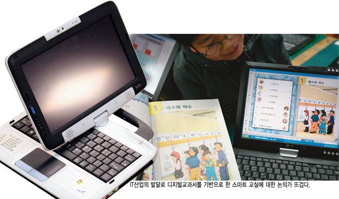 """디지털교과서 """"굿바이, 책가방"""""""