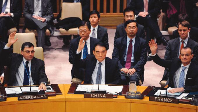한반도는 중국 문지방 북한 압박 '미션 임파서블'
