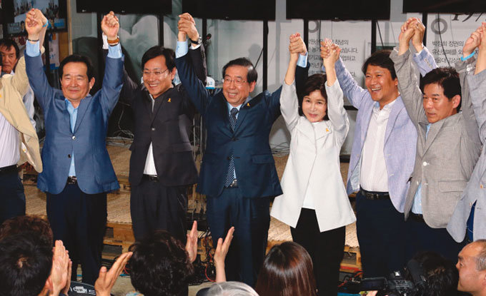 '정치적 무게'와 미래 존재감
