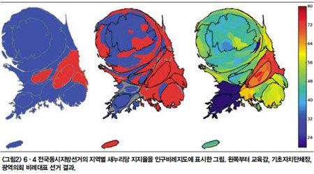 지역감정 여전 정당공천 없애자 진보·보수로