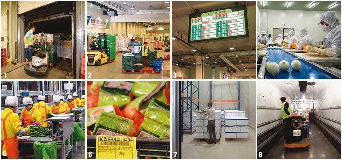 농협안성농식품물류센터 농산물 유통혁신의 메카로 떴다