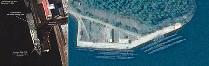 북한 신형무기 잇단 공개 '反상륙전' 능력 과시