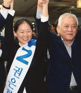 '권은희 후폭풍' 수도권 민심 흔드나