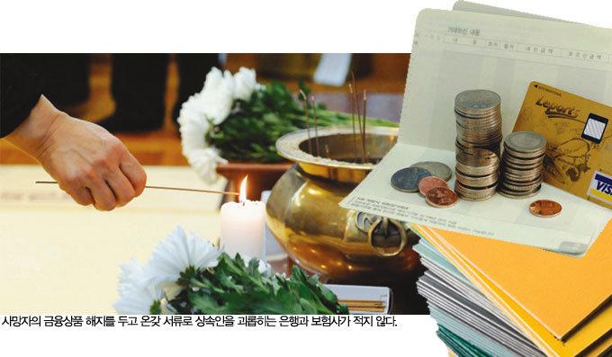 환불 서류…인감…'유족 뺑뺑이'