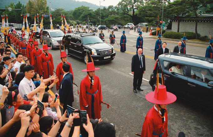 서울시민 만나는 교황