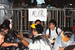 불붙은 홍콩 시위…팽팽한 긴장감