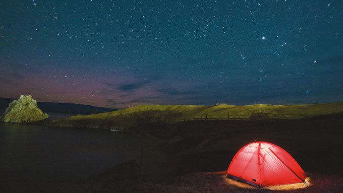 시베리아 '푸른 눈'에 빠져 잠 못 이루는 밤이여!