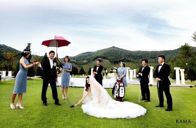 여제 박인비 골프장 결혼식 짝짝짝 짝~짝