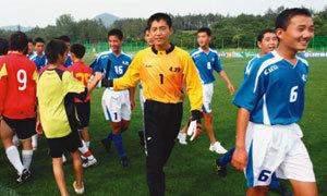 北, U-15 소년 축구대회 참가 통보