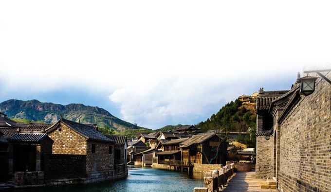 만리장성 밑에 '물의 마을' 있었네