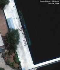 北 탄도미사일 탑재 잠수함 진수, '두려움'이 오보 불렀다
